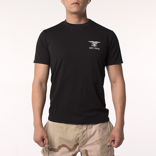 UDT/SEAL Cool Shirt Short_Black